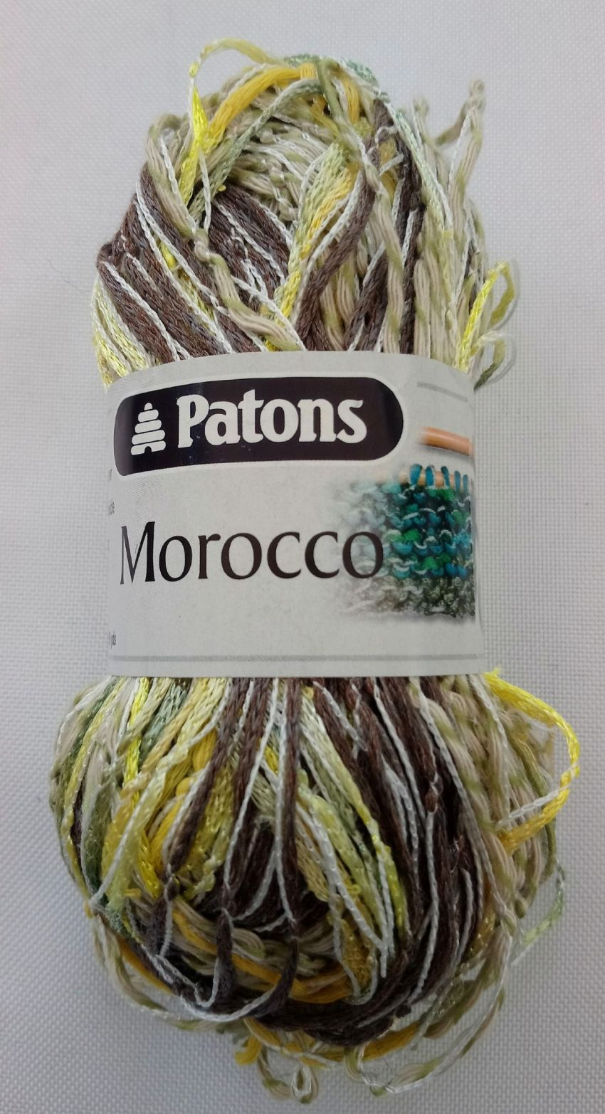 Patons Morocco Brown/Linen/Yellow mix 50g